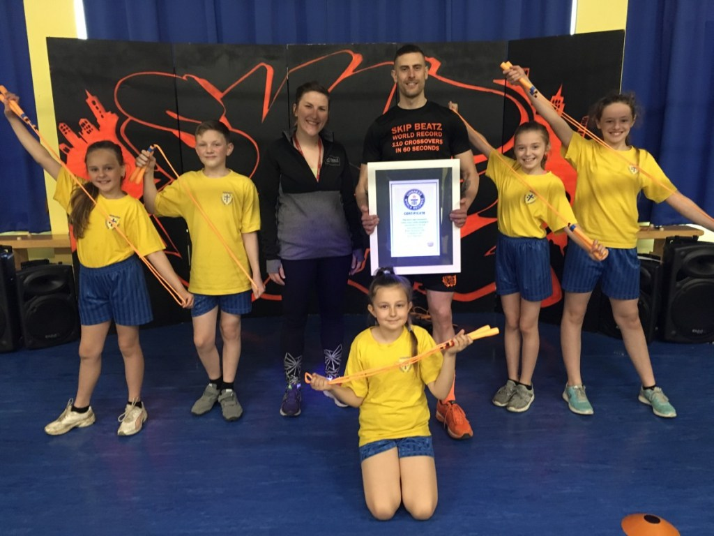Howard pupils inspired by world record skipper