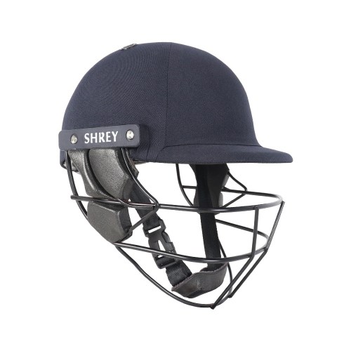 SHREY Armor 2.0 Steel Navy Blue Helmet