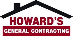 Howards construction logo web white