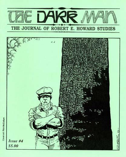 The Dark Man #4: The Journal of Robert E. Howard Studies