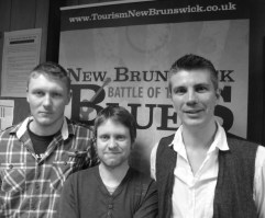 Richy, Gav and How at the Newcastle heat of the New Brunswick Battle of the Blues 2012