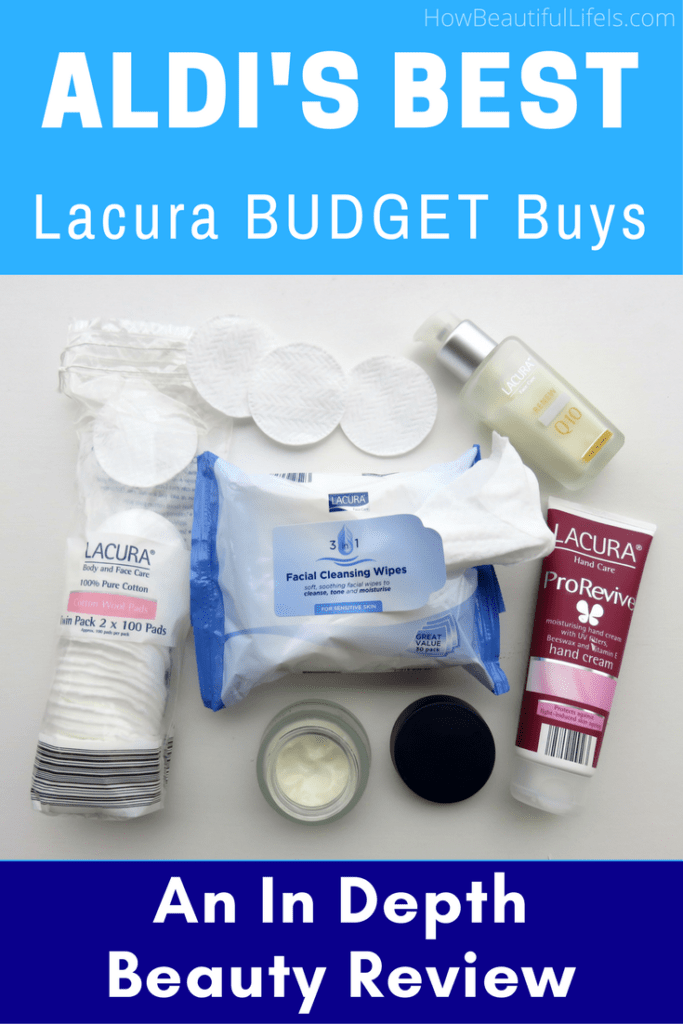 In Depth Beauty Product Review: Aldi's Best Lacura Budget Buys