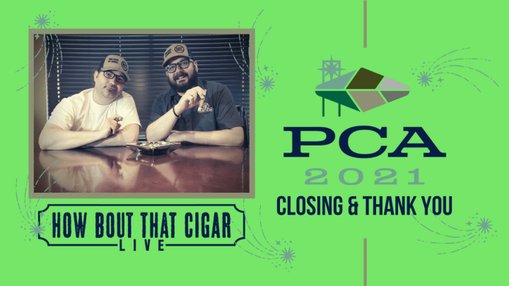 PCA 21 Feature: Closing & Thank You