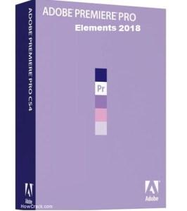 Adobe Premiere Elements Pro 2018 Cracked