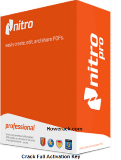 Nitro Pro Crack Full Activation Key free