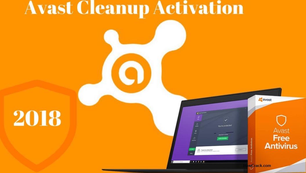 Avast Cleanup 18.2 Crack Full Activation Code Premium Lifetime 2018