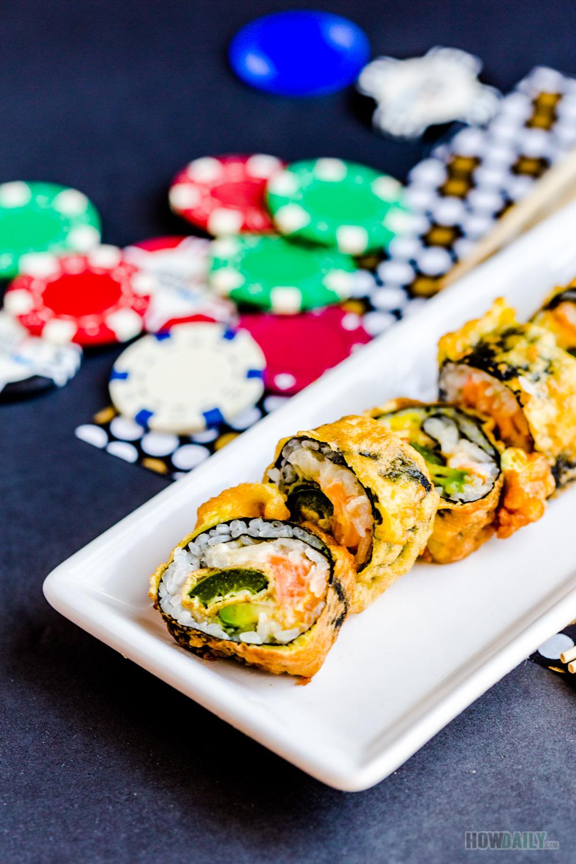 Las Vegas Sushi Roll Recipe