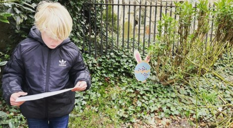 First Ashes Easter Egg Hunt a great success!