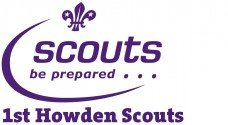 Scout Logo with group name - 1st Howden Scouts (St. Peters)