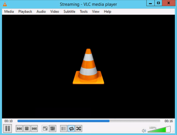 Multicast Stream test with VLC 8