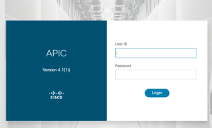 Cisco ACI login