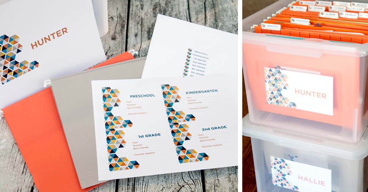 Free Printable Keepsake Box Labels How Does She