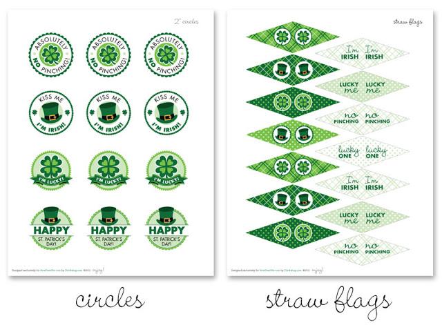 Free St Patricks Day Printables