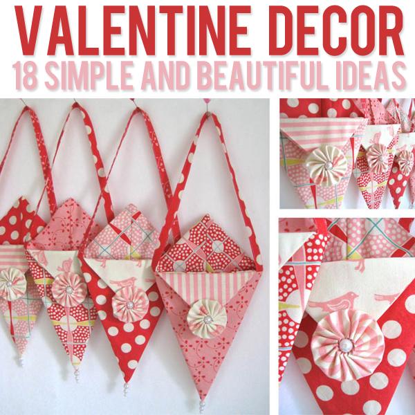 Valentine Decor 13 Ideas