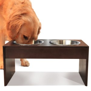 Elevated Dog Bowl for Large Dogs