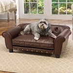best leather dog beds