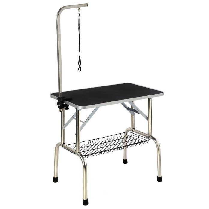 best small dog grooming table 4