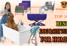 best dog bath tub for home