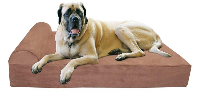 Big Barker Pillow Top Orthopedic Dog Bed for Large and Extra Large Breed Dogs
