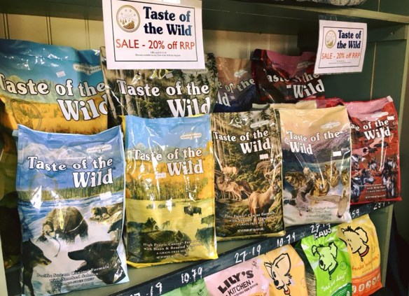 """The """"Wild"""" Flavor Is Typical Of Taste Of The Wild"""