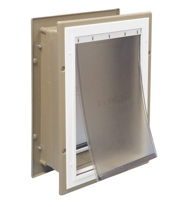 Best Dog Door For Wall By PetSafe Wall Entry Aluminum