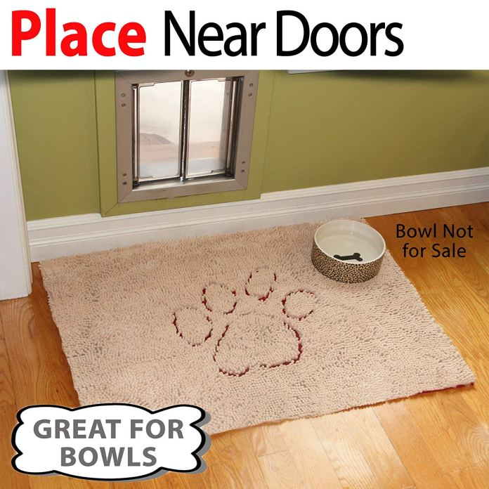 Best Doormat For Dogs By iPrimio Dog Extra Thick Micro Fiber