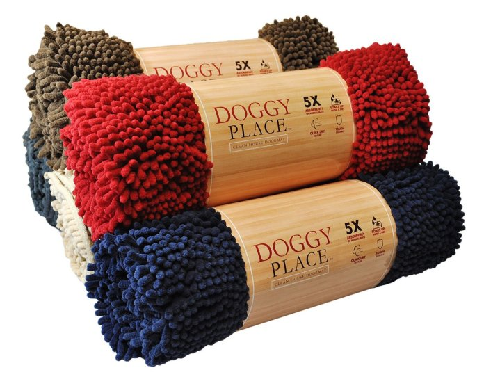 Best Doormat for Dogs by My Doggy Place Ultra Absorbent Microfiber