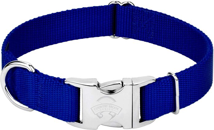 Premium Nylon Dog Collar From Country Brook Design