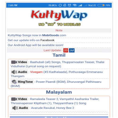 Kuttyweb Download Malayalam Telugu New Movies