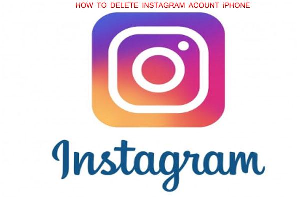 How to Delete Instagram Account iphone