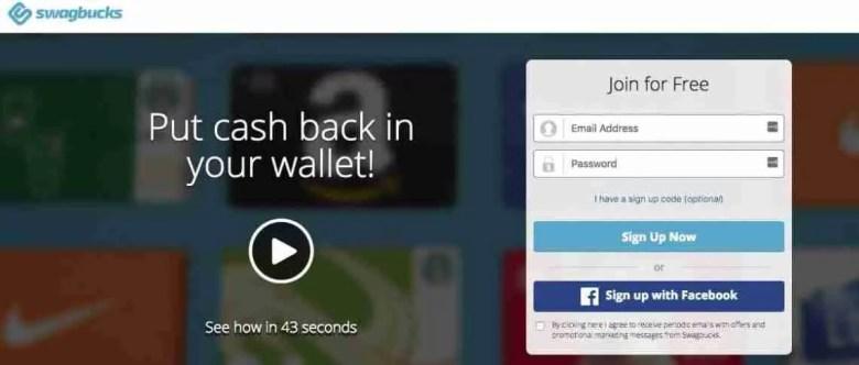 SwagBucks - Siti di sondaggi affidabili per fare soldi extra - Siti di sondaggi affidabili per fare soldi extra