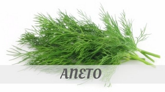 How To Say Aneto