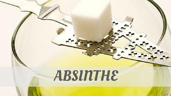 How To Say Absinthe