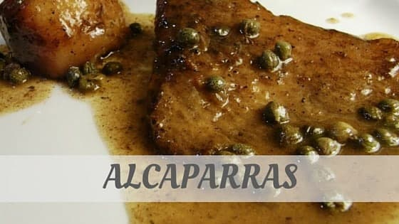How To Say Alcaparras