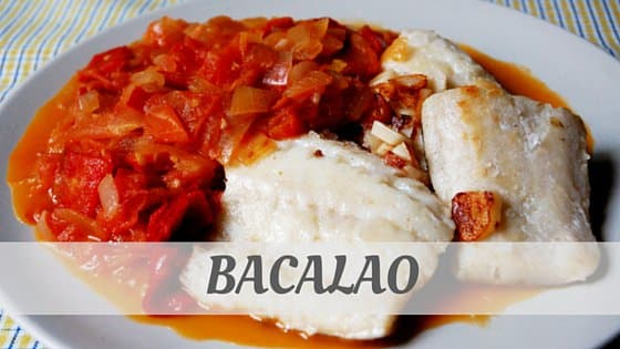 How To Say Bacalao