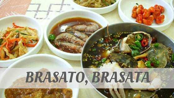 How To Say Brasato