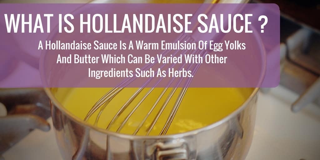 what-is-hollandaise-sauce