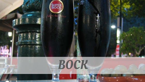 How To Say Bock
