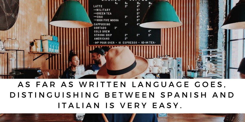 What Is The Difference Between Spanish And Italian
