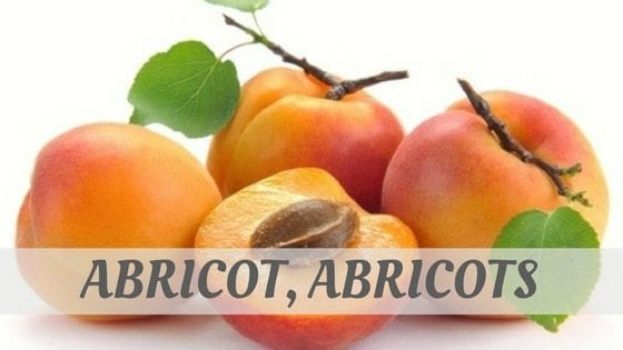 Abricot, Abricots