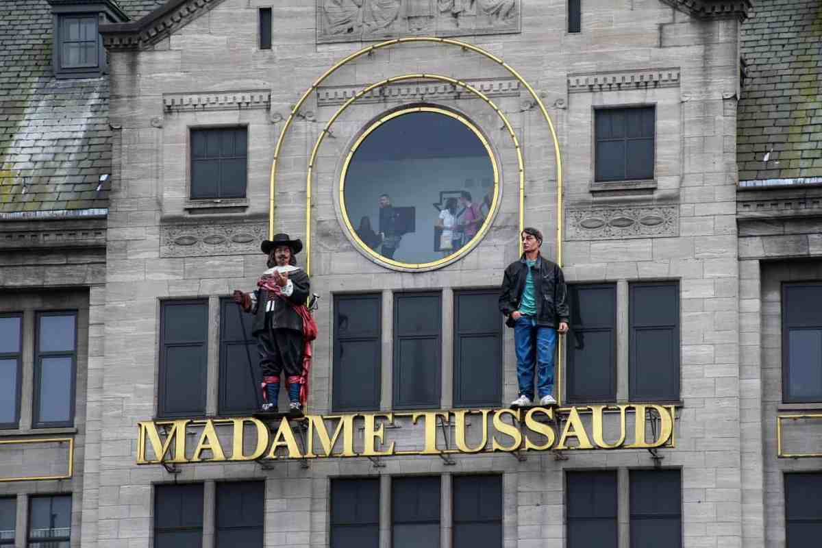 Entrance to Madame Tussauds Museum