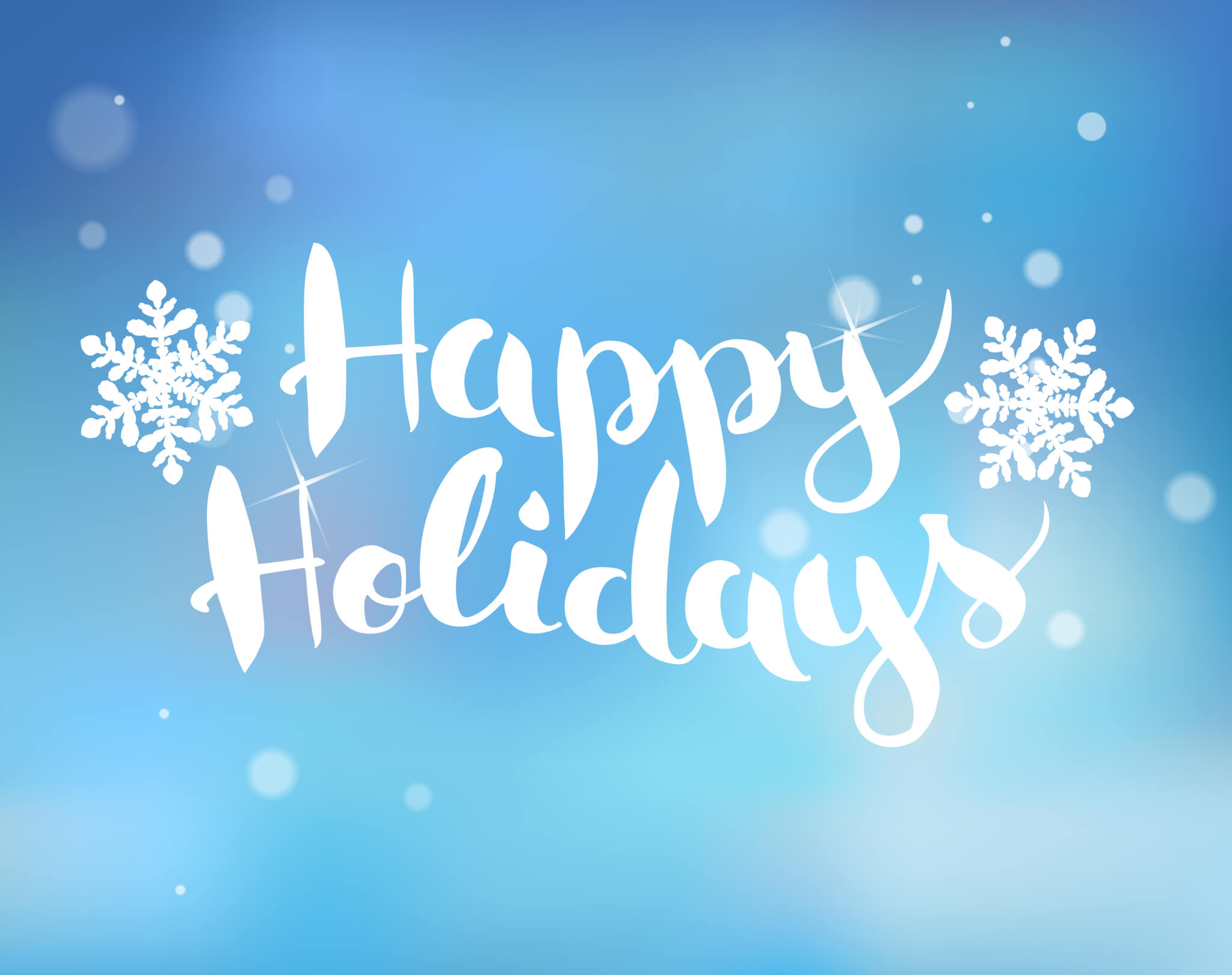HAPPY HOLIDAYS FROM HOWELL SERVICES