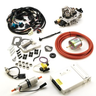 #K247J - TBI KIT: 1972-93 304, 360, 401 V-8 Jeep/AMC, Offroad