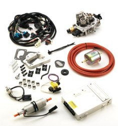 #K247JPV8 - TBI KIT: 1972-93 304, 360, 401 V-8 Jeep/AMC - Emissions Legal