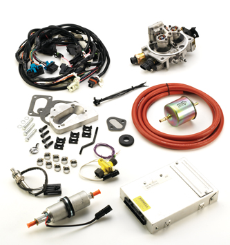 #K247JPV8 - TBI KIT: 1972-93 304, 360, 401 V-8 Jeep/AMC - Emissions on