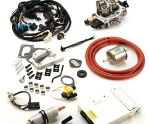 #K247JPV8 - TBI KIT: 1972-93 304, 360, 401 V-8 Jeep/AMC - Emissions Legal