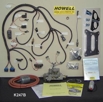 #K247A - TBI KIT: Universal V-8 w/Electronic Distributor