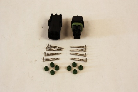 #WP268 - Weatherpack Connectors, Quad male and female