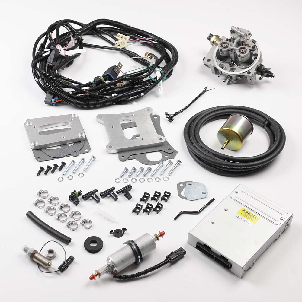 hb225 225 cid buick tbi conversion kit howell efi conversion OMC Ignition Switch Wiring Diagram hb225 225 cid buick tbi conversion kit