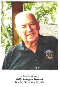 Billy Howell Obituary